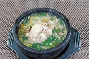 賀来店 テールスープ