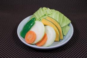 明野店 野菜盛り